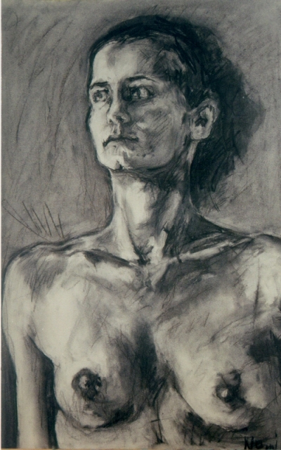 1999 Charcoal on Paper  50cm x 80cm